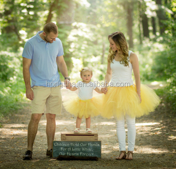Mommy And Me Outfits Tutu Skirt Mother And Daughter Matching Dresses HSD5761 e7553965cec0