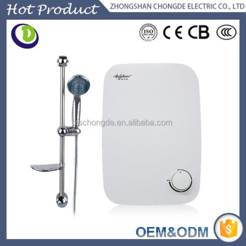 Best efficiency saving wall mounting instant electric shower water heater for bathroom kitchen