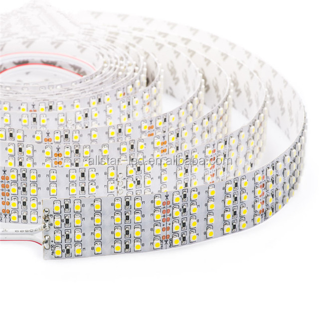 Hot sale Quad row led strip light 24V 3528 480led per meter 4 row led strip light led strip