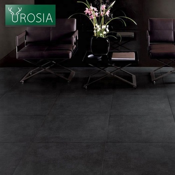 china new design wooden look rustic porcelain ceramic floor tiles black wood grain effect floor tiles