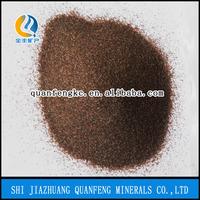 China popular garnet sand blasting abrasive