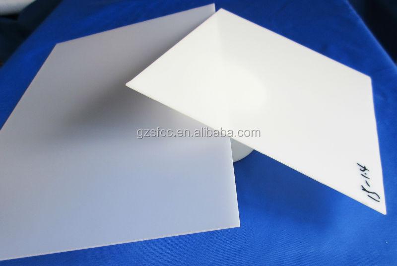 Cast Dull Polish Acrylic Sheet Clear Pmma Board