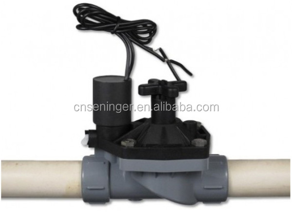 Solenoid valve irrigation valve box solenoid garden, View Sprinkler valve  in valve box, XF or OEM Product Details from Ningbo Seninger Plastics Co ,