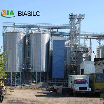 Small Storage Grain Silo Bolted Steel Coffee Bean Silos And 1000t Grain Silo For Paddy Rice Storage Price For Sale