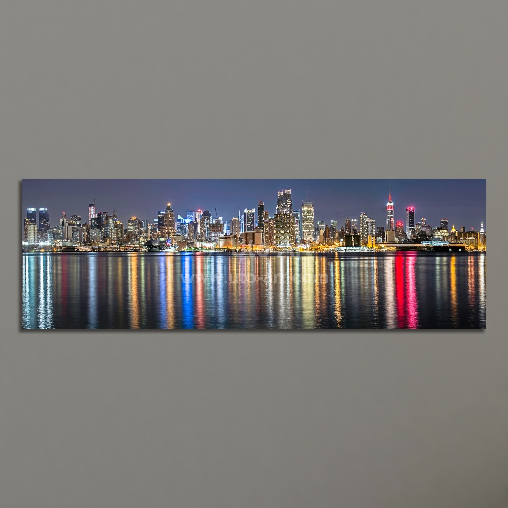 Guarantee New York City Canvas Painting Panoramic Home