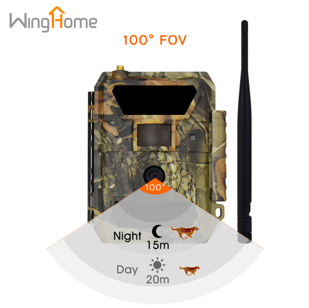 Best Selling Satellite Hunting Trail 12MP 3G SMS Wireless Cellular Game Camera