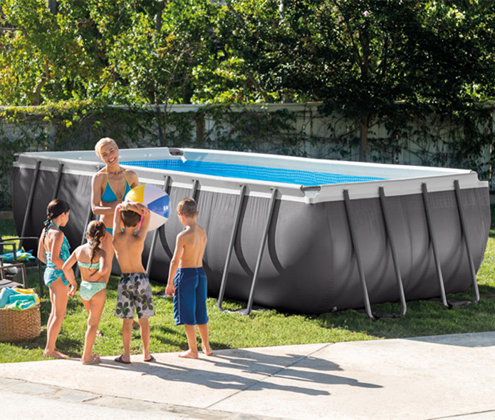 INTEX 26372 Ultra Metal Frame Above Ground Swimming Pools