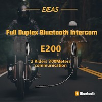 2017 New product!EJEAS E200 2 rider 300 meters full duplex talking helmet motocycle helmet intercom