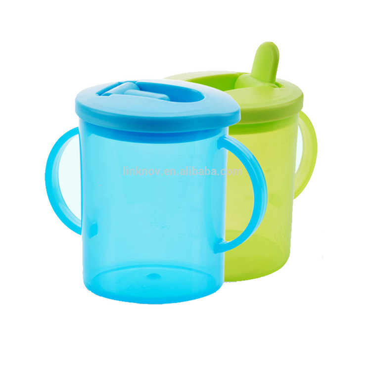Wholesale Amazon Hot Sell Bpa Free 360 Baby Water Drinking Training Straw Sippy Trainer Cup