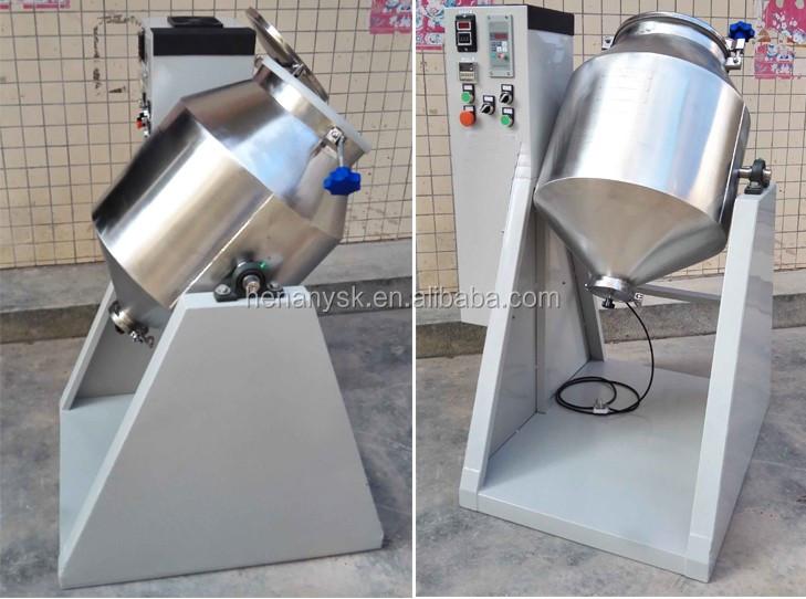 50kg / Time Stand Powder Mixer Machine Capsules Food Powder Flour Granule Mixer