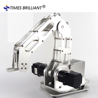 The table top four axis robotic arm replaces the manual mechanization operation load 2.5kg load lifting mechanism