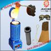 Induction Gold Silver Copper Scrap Heating Furnace Used for Melting
