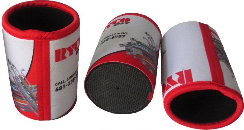 Cheap price promotional nbr foam can holder and can cooler