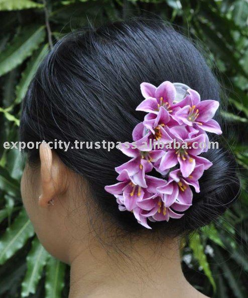 9 Flowers Hyacinth Water Lily Hair Clip Grip Ornament Fashion Product On Alibaba