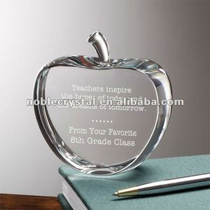 Apple As Fruit Crystal Graduation Teachers Day Gifts Souvenirs