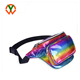 Custom Logo Waterproof Holographic Shiny Fanny Pack Waist Bum Bag