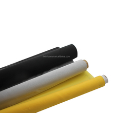 HuaRun 10T-165T Yellow/White Polyester Screen Printing Mesh For Manual Screen Printing Machine