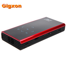 Gigxon – G06S Mini DLP LED Projector Android WiFi Miracast Bluetooth HDMI for Smart Phones home theater Portable video Projector