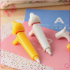 Wholesale Back to School stationery items list with price photos ,customizable dog plastic ball-point pens imported from china