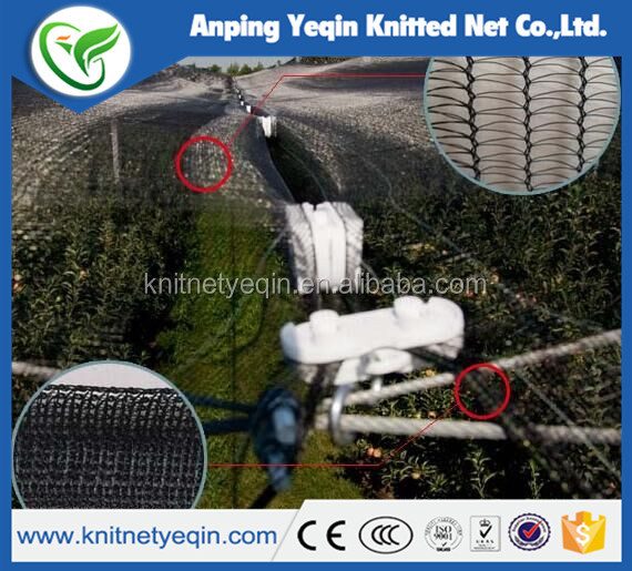 hot sale pe material anti hail net shadow net for hailstorm defending