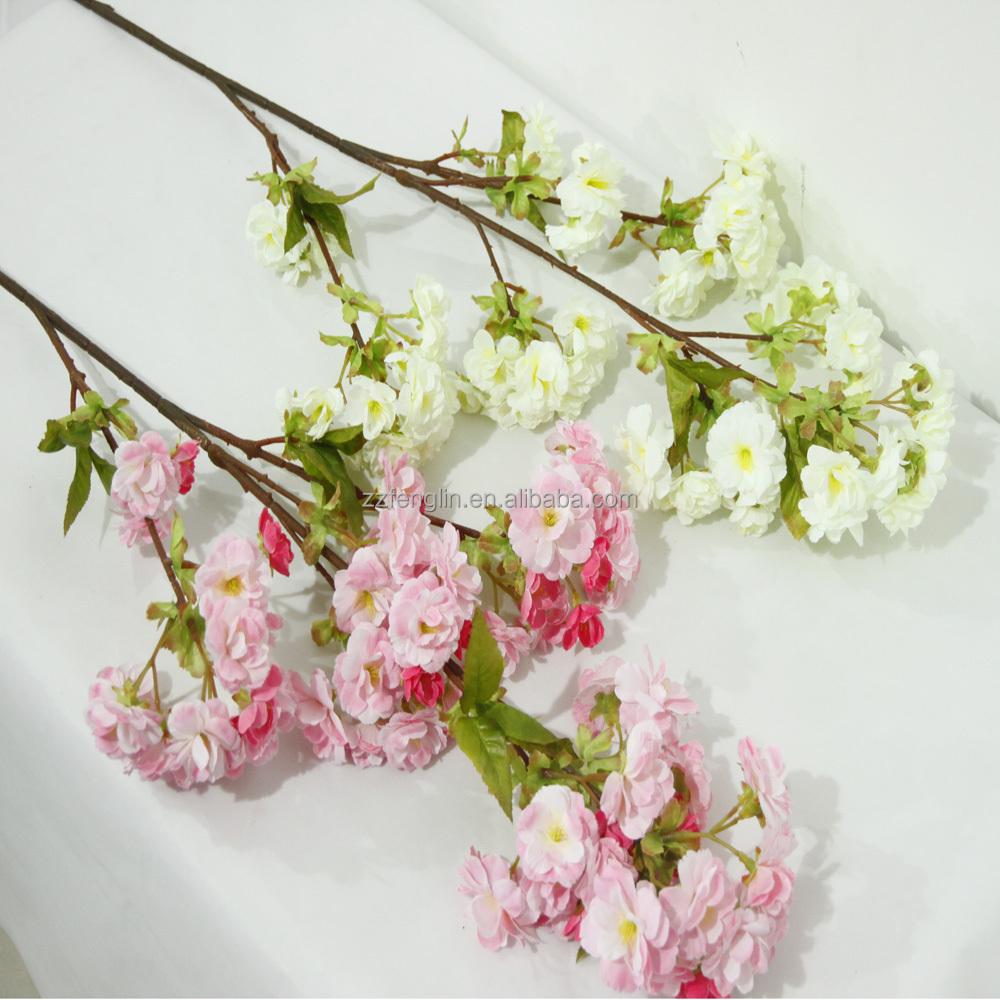 Factory cheap wholesale wedding decorative artificial cherry blossom factory cheap wholesale wedding decorative artificial cherry blossom branches silk flower for sale izmirmasajfo