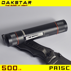 DAKSTAR Newest PR15C 500LM IPX8 maglite flashlight japan flashlight mini flashlight