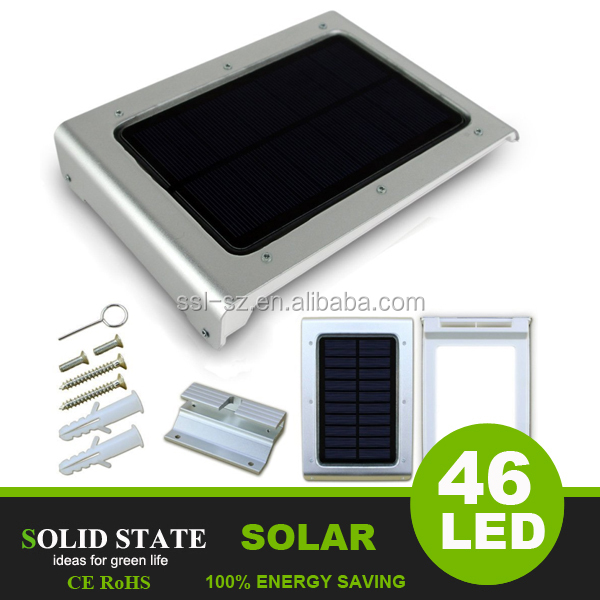 Wholesale 46 Led Motion Sensor Lights Outdoor Solar Wall Yard Path ...