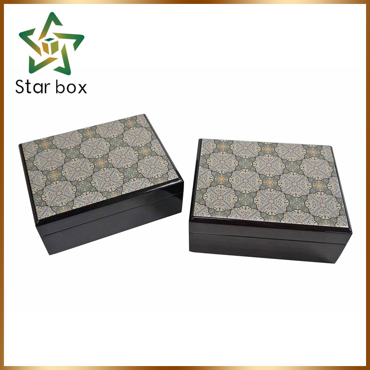 Arabic style premium gift box, wood packaging boxes for fragrances