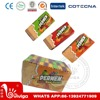 permen three fruity flavour wafer biscuit
