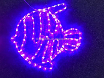 Led motif light ropepurple cute fish motif light with ul stripe led motif light rope purple cute fish motif light with ul stripe lightip65 aloadofball Images