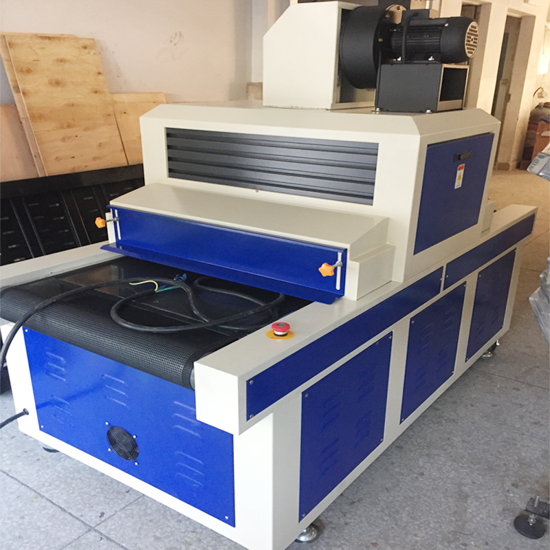 Zeefdruk UV drogen Tunnel UV Droger