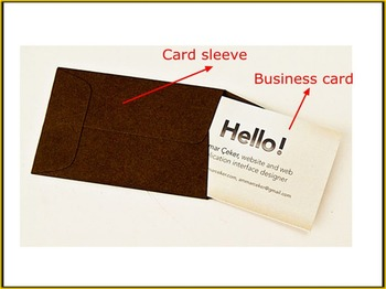 Custom business cards and paper sleeveenvelope buy custom custom business cards and paper sleeveenvelope colourmoves