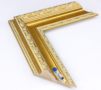 Yiwu Junlin newest PS picture frame moulding shadow box wholesale mirror frame moulding for sale/cheap polystyrene picture frame