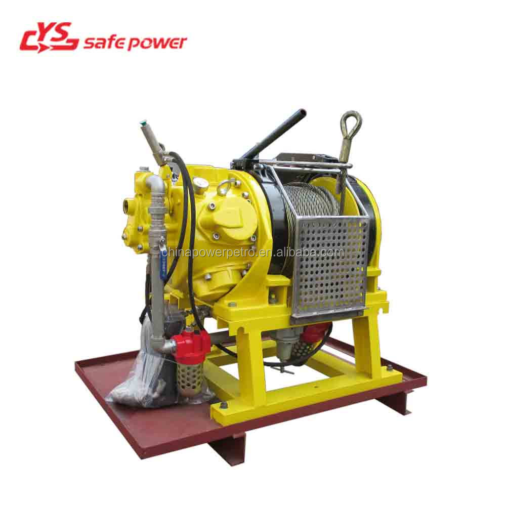 5 Ton Mine use air Winch 5 Ton Pneumatic mining Hoist
