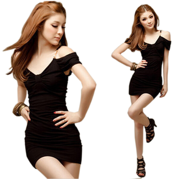 CMCYY Womens Fashion Transparent Mesh Slit Formal Package Hip Clubwear Party Dress