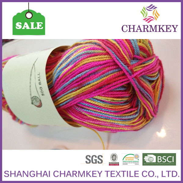 China good acrylic yarn for cup set for crochect