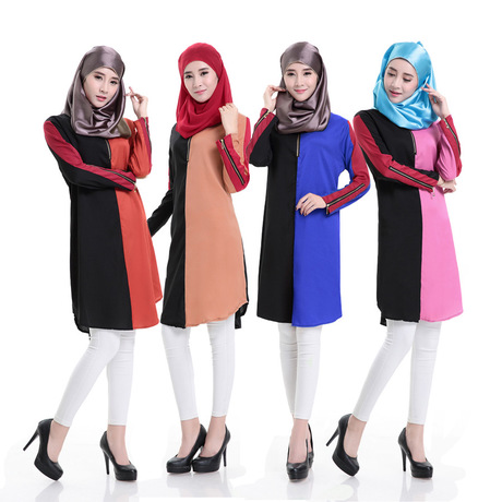 Ladies Plain Long Jilbab Design Maxi Abaya Kaftan(A3247)