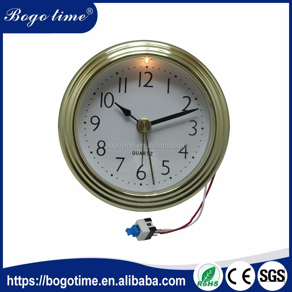 Volume Supply 76mm golden Customized grandfather clock movements