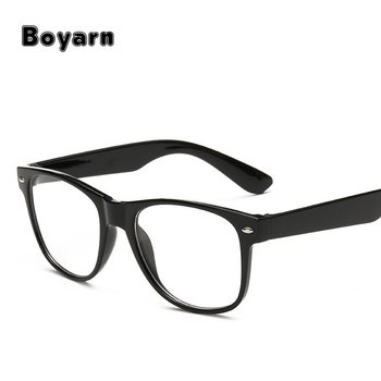 Fashion Spectacle Frame Simple Men Women Optical Glasses Frame With ...