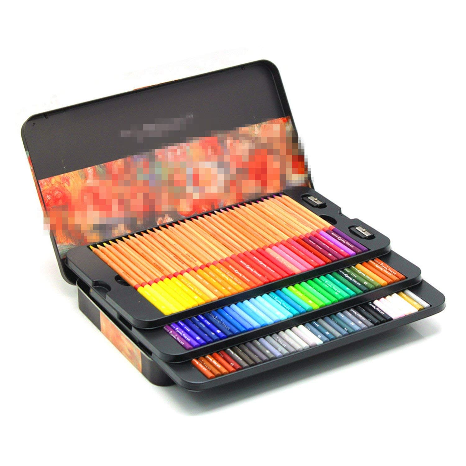 24/36/48/72/100 Colored Oil Colors Professional Pencils Art Drawing Painting Sketch Colored Pencils 72 pencil