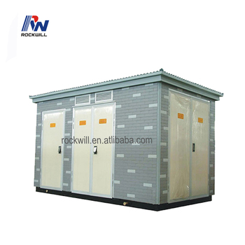 Outdoor prefabricated transformer substation