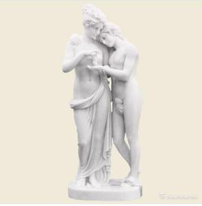 Outdoor Stone Marble Statue Beautiful Nude Roma Naked Woman Sculpture