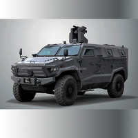4x4 Bulletproof Armored Car For Military Use