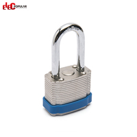 China Cheap High Rustproof Laminated Steel Pad Locks Safety Padlock