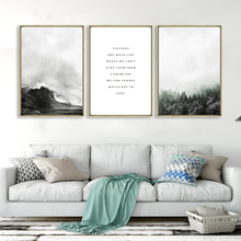Landscape Canvas Art Printed Painting Poster Nordic Style Wall Pictures for Home Decoration Wall Decor