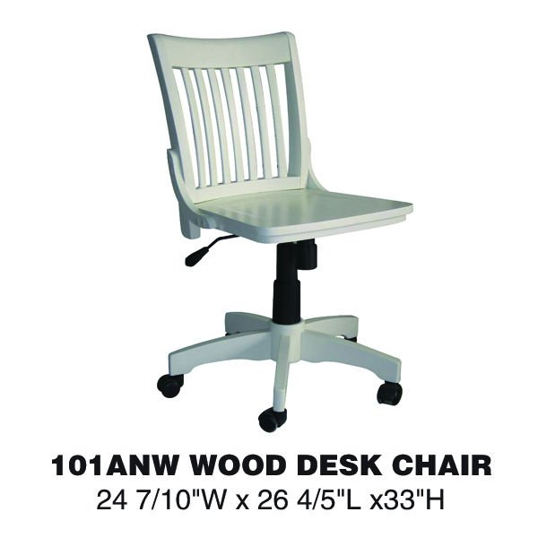 Ergonomic office chairs no arms 101ANW