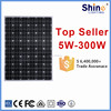 High quality 72 cell solar photovoltaic module Mono 200w solar panel application for home system