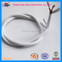 low smoke zero halogen flexible electrical wiring H03VV-F fire proof flame retarding NYM cable manufacturer