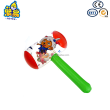 Hot selling for kids power pvc inflatable plastic hammer toy