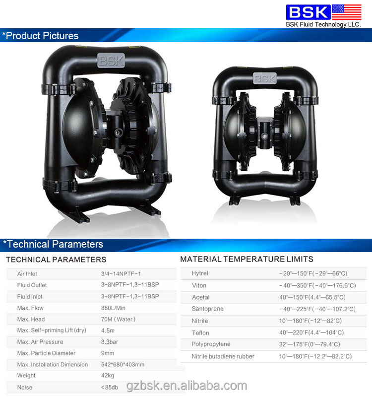 Good quality 3 large pipe powder flour sunction air diaphragm pump good quality 3 large pipe powder flour sunction air diaphragm pump from usa ccuart Gallery